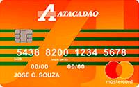 Logo Atacadão Cartão Atacadão Mastercard Internacional