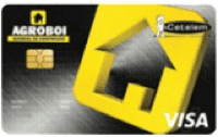 Logo Banco Cetelem Cartão Agroboi Visa Nacional