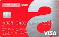 Logo Banco Cetelem Cartão Americanas Visa Nacional