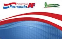 Logo Banco Cetelem Cartão Armarinhos Fernando Visa
