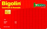 Logo Banco Cetelem Cartão Bigolin Visa