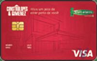 Logo Banco Cetelem Cartão Construlopes & Gimenez Visa Nacional