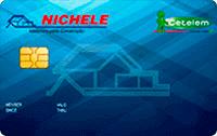 Logo Banco Cetelem Cartão Nichele Visa