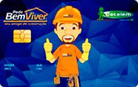 Logo Banco Cetelem Cartão Rede Bem Viver Visa Nacional