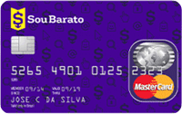 Logo Banco Cetelem Cartão Sou Barato Mastercard