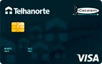 Logo Banco Cetelem Cartão Telhanorte Visa