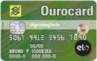 Logo Banco do Brasil Cartão Ourocard Agronegócio Elo Nacional