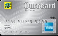 Logo Banco do Brasil Ourocard American Express Platinum