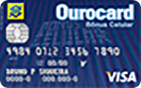 Logo Banco do Brasil Ourocard Bônus Celular International