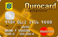 Logo Banco do Brasil Ourocard Mastercard Gold