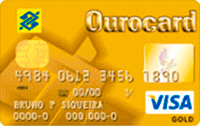 Logo Banco do Brasil Ourocard Visa Gold