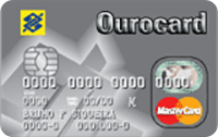 Logo Banco do Brasil Ourocard Mastercard Platinum