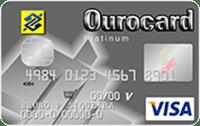 Logo Banco do Brasil Ourocard Visa Platinum