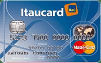 Logo Banco Itaú Cartão Mastercard Nacional