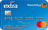 Logo Banco Itaú EXTRA Itaucard 2.0 International Mastercard