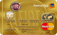 Logo Banco Itaú Cartão Fiat Itaucard 2.0 Mastercard Gold