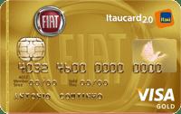 Logo Banco Itaú FIAT Itaucard 2.0 Visa Gold