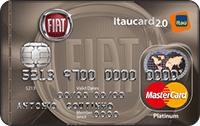 Logo Banco Itaú FIAT Itaucard 2.0 MasterCard Platinum