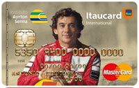 Logo Banco Itaú Cartão IAS Itaucard Mastercard Internacional