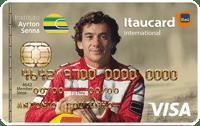 Logo Banco Itaú IAS Itaucard Visa Internacional