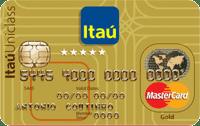 Logo Banco Itaú Cartão Múltiplo Itaú Mastercard Gold