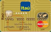 Logo Banco Itaú Cartão Itaú Uniclass Mastercard Gold