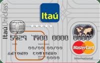 Logo Banco Itaú Cartão Múltiplo Itaú Uniclass Mastercard Internacional