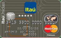 Logo Banco Itaú Cartão Itaú Uniclass Mastercard Platinum