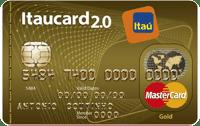 Logo Banco Itaú Itaucard 2.0 Sempre Presente Mastercard Gold