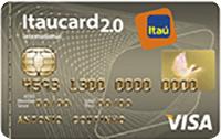 Logo Banco Itaú Itaucard 2.0 Visa Internacional