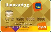 Logo Banco Itaú Cartão Itaucard 2.0 Hiper Nacional