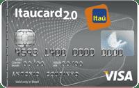 Logo Banco Itaú Cartão Itaucard 2.0 Visa Nacional