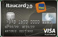 Logo Banco Itaú Itaucard 2.0 Visa Platinum