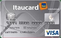 Logo Banco Itaú Itaucard Universitário | Cinza Visa