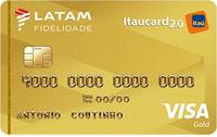 Logo Banco Itaú LATAM Itaucard 2.0 Visa Gold