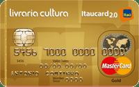 Logo Banco Itaú Cartão Livraria Cultura Itaucard 2.0 Mastercard Gold