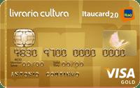 Logo Banco Itaú Livraria Cultura Itaucard 2.0 Visa Gold