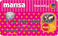 Logo Banco Itaú Marisa Itaucard 2.0 Nacional Mastercard
