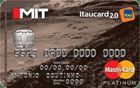 Logo Banco Itaú Mit Itaucard 2.0 Mastercard Platinum