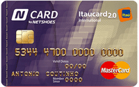 Logo Banco Itaú N Card Itaucard 2.0 International