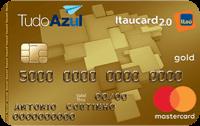 Logo Banco Itaú Cartão TudoAzul Itaucard 2.0 Mastercard Gold