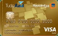 Logo Banco Itaú Cartão TudoAzul Itaucard 2.0 Visa Gold