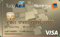 Logo Banco Itaú TudoAzul Itaucard 2.0 Visa Internacional