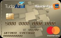 Logo Banco Itaú Cartão TudoAzul Itaucard 2.0 Mastercard Internacional