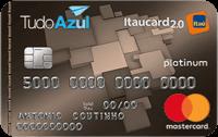 Logo Banco Itaú Cartão TudoAzul Itaucard 2.0 Mastercard Platinum