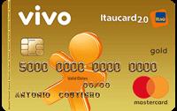 Logo Banco Itaú VIVO Itaucard 2.0 Pré Mastercard Gold
