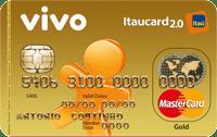 Logo Banco Itaú VIVO Itaucard 2.0 Pós Mastercard Gold