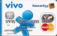 Logo Banco Itaú VIVO Itaucard 2.0 Nacional Pré Mastercard