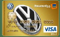 Logo Banco Itaú Volkswagen Itaucard 2.0 Visa Gold