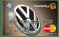 Logo Banco Itaú Volkswagen Itaucard 2.0 Mastercard Platinum